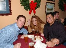 From left: Doug Miller, Alyson Footer and Jesse Sanchez